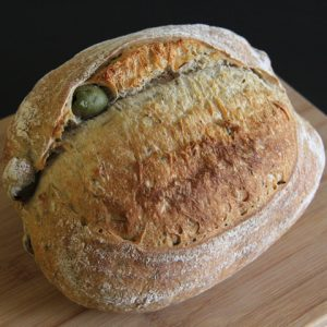 Green Olive Bread