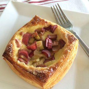Rhubarb Croissant